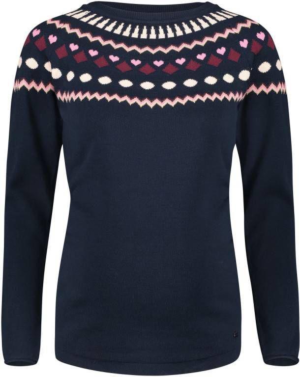 SUPERMOM Sweatshirt Helder Blauw Gr.Positiekleding